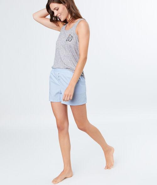 Pantalón corto viscosa