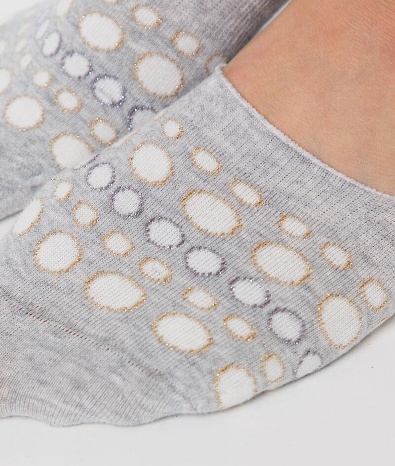 2 pares de calcetines efecto invisible;${refinementColor}