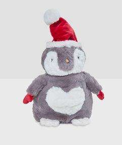 Guarda pijamas pingüino c.gris.
