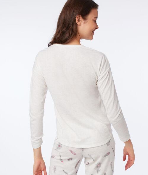 Camiseta manga larga dibujo atrapasueños