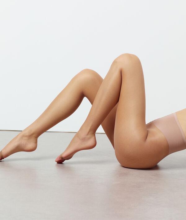 Medias finas con efecto piernas desnudas y abertura en los dedos de los pies;${refinementColor}