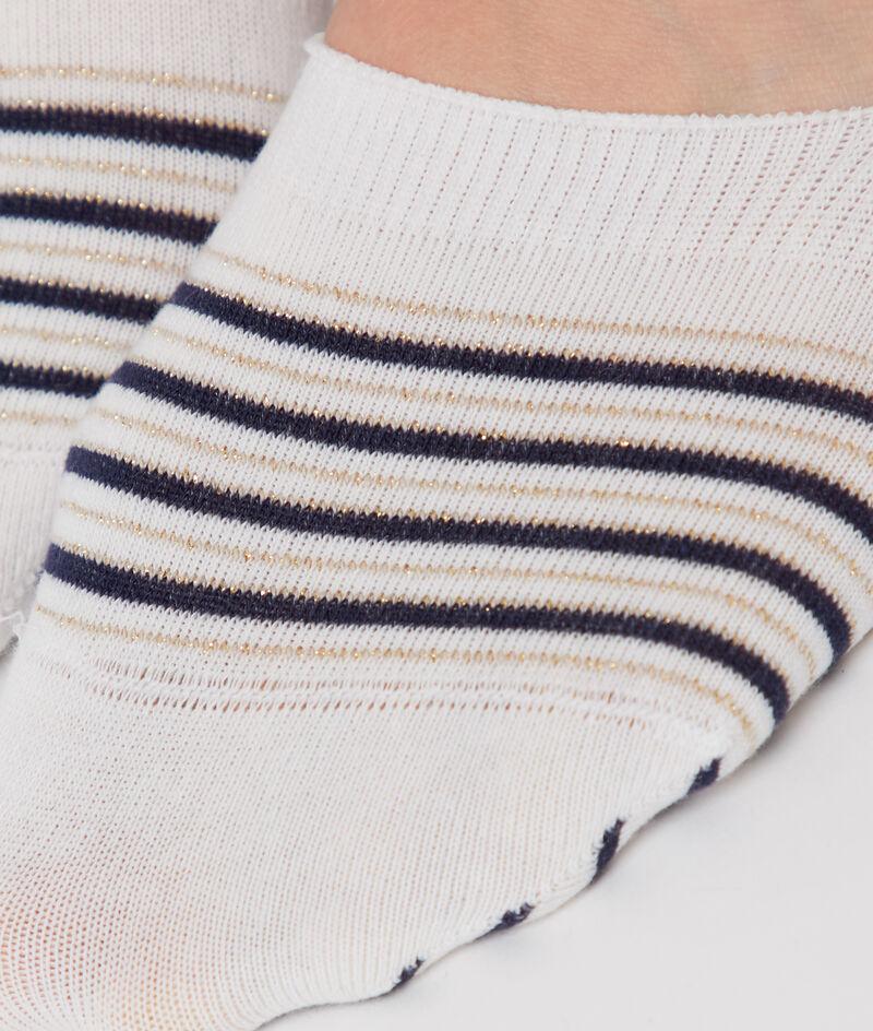 2 calcetines tobilleros estampados;${refinementColor}