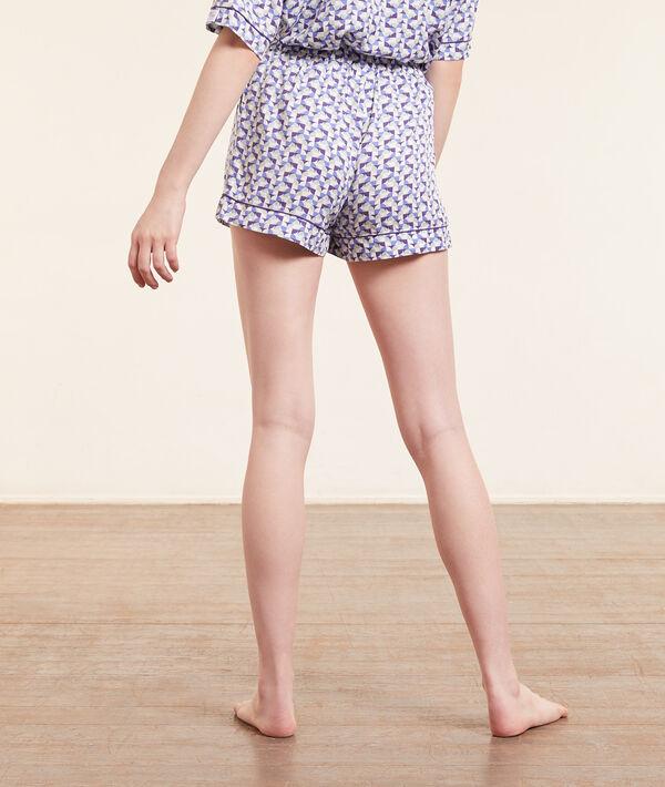 Pantalón corto estampado geométrico;${refinementColor}