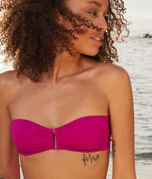 Sujetador bikini bandeau sin aros;${refinementColor}