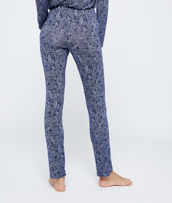 Pantalón estampado de viscosa eco;${refinementColor}
