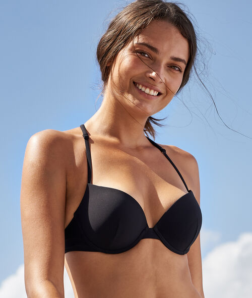 Sujetador bikini push up. Copa B