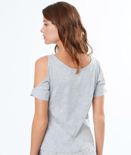 Camiseta hombros al descubierto