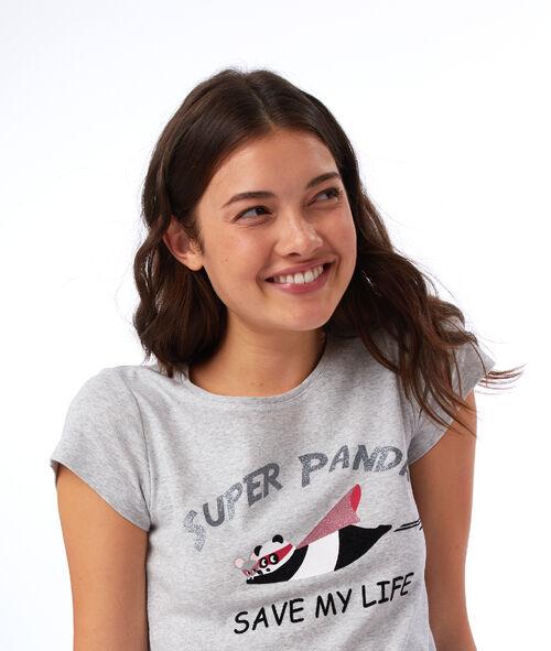 Camiseta superpanda