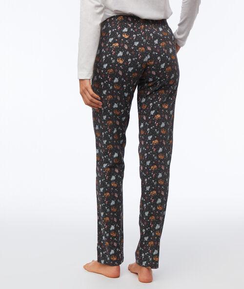 Pijama 3 piezas elefante