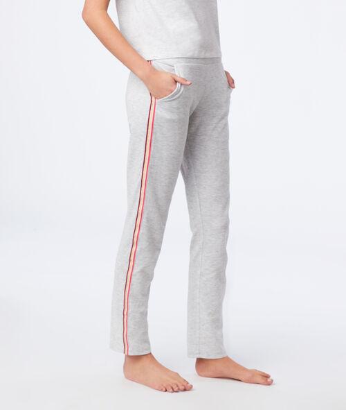 Pantalón homewear franjas laterales
