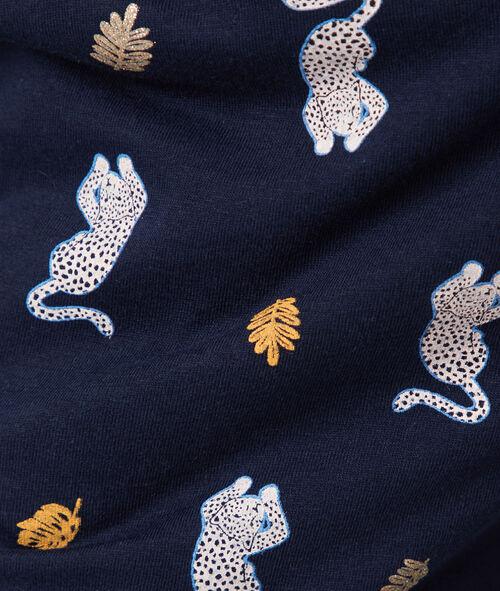 Pantalón estampado leopardos