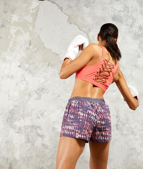 Pantalón corto de training 2 en 1