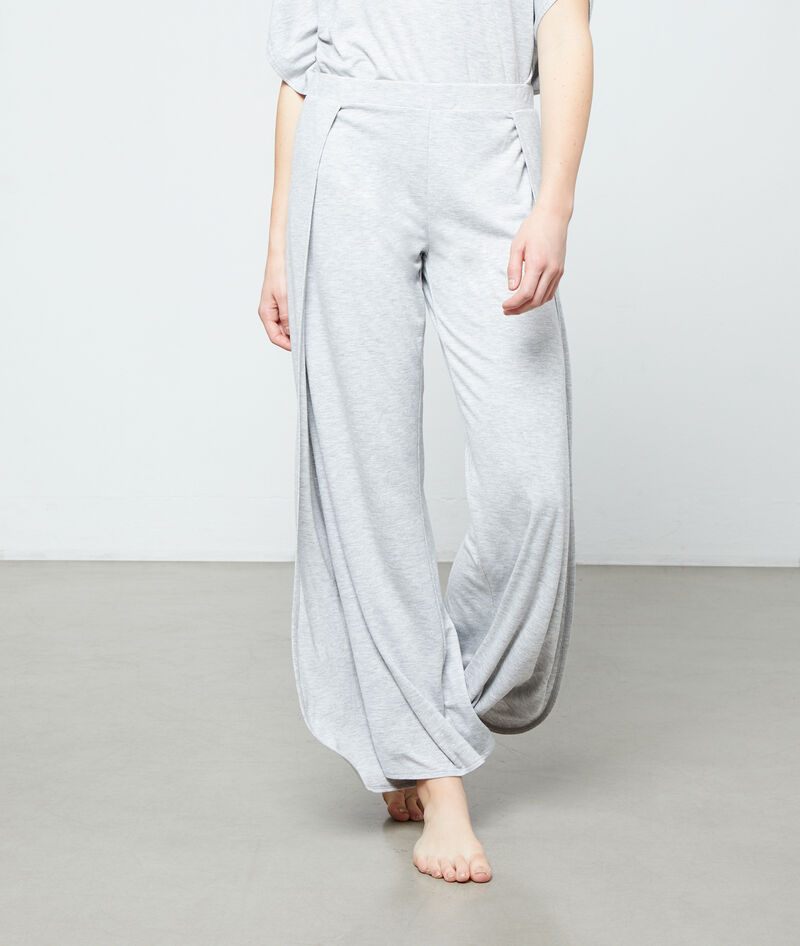 Pantalón ancho viscosa