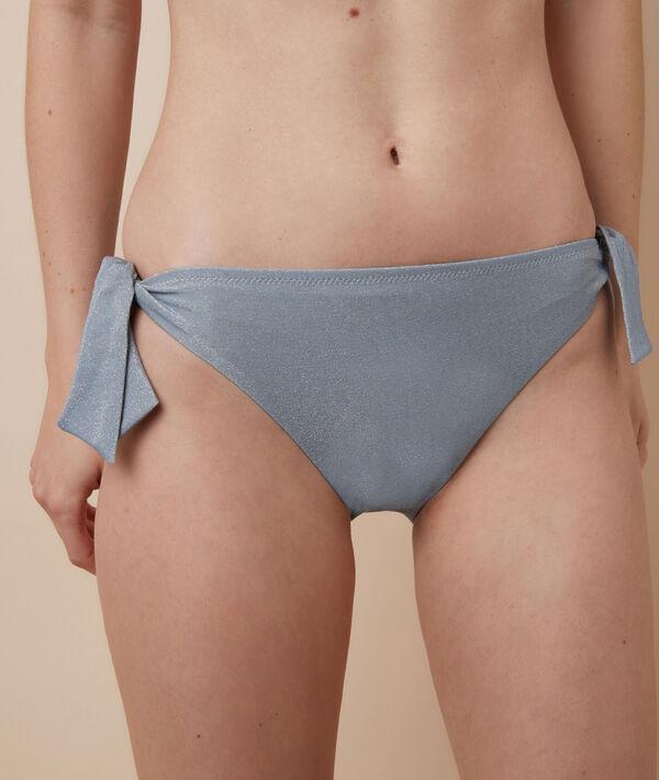 Braguita bikini, lazos laterales;${refinementColor}
