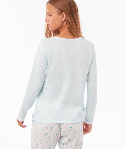 Camiseta flamencos detalles pelo