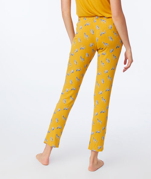 Pantalón pijama estampado cebras