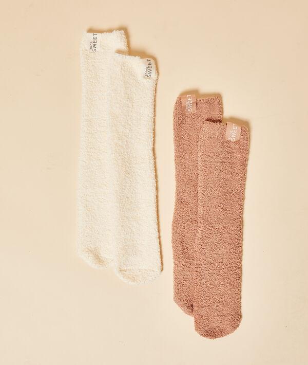 Lote de 2 calcetines homewear;${refinementColor}