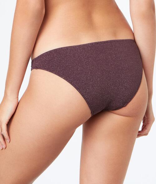 Braguita bikini fibras metalizadas