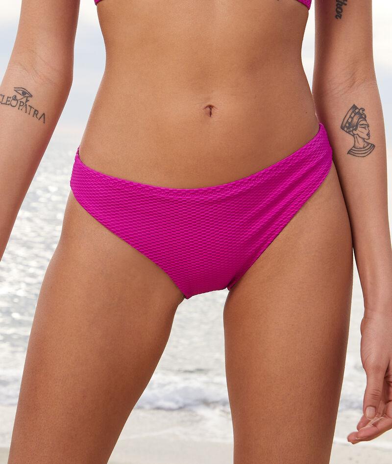 Braguita bikini, tejido relieve