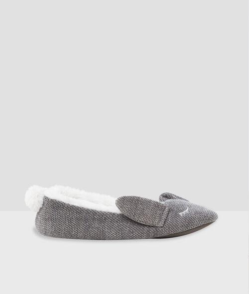 Zapatillas forradas conejo