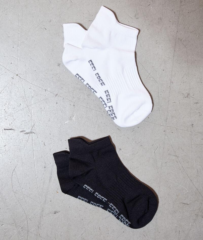 2 pares calcetines tobilleras