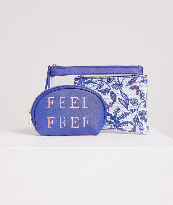 Neceser transparente 'feel free';${refinementColor}