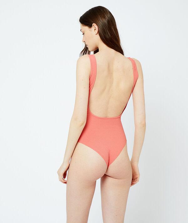 Body tejido canalé, abertura espalda;${refinementColor}