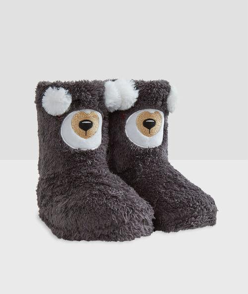 Zapatillas tipo botines osos