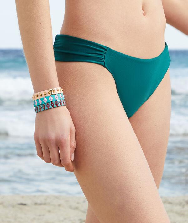 Braguita bikini, drapeada laterales;${refinementColor}