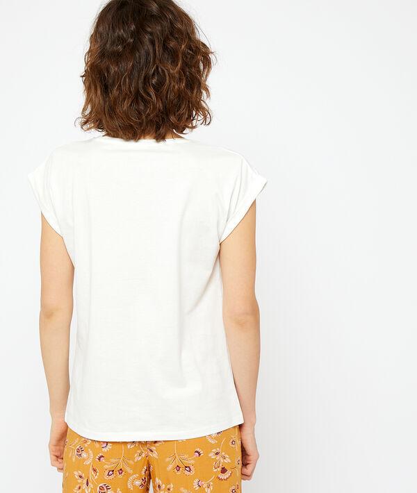 Camiseta estampada de algodón;${refinementColor}