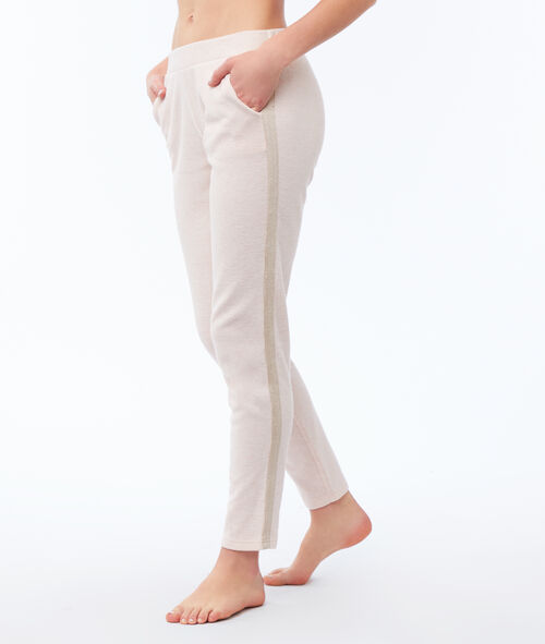 Pantalón liso franja lateral