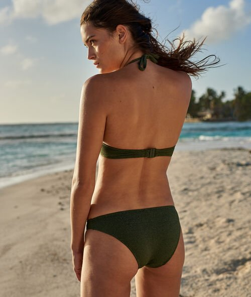 Braguita bikini tejido brillante