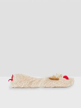 Zapatillas renos crudo.