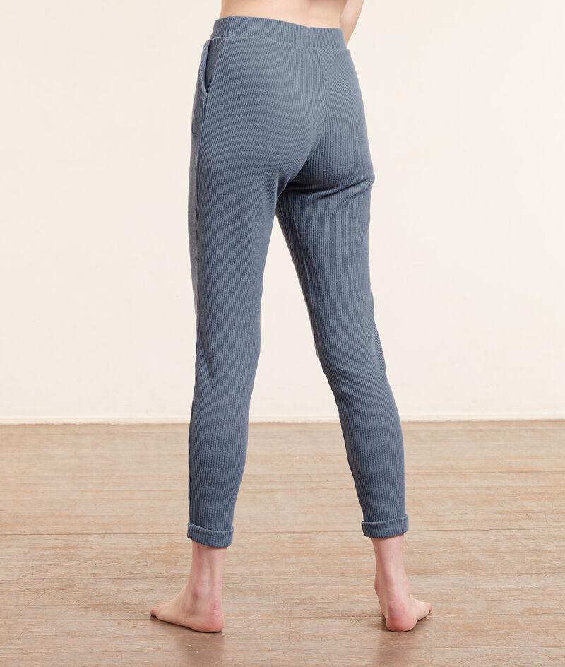 Pantalón jogger, tejido canalé;${refinementColor}