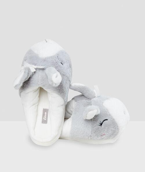 Zapatillas motivos conejo