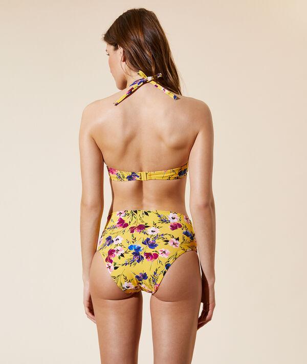 Sujetador bikini push up, estampado floral. Copa B-C;${refinementColor}