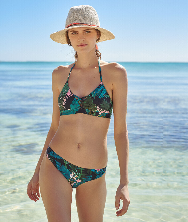 BRAGUITA BIKINI ESTAMPADO TROPICAL