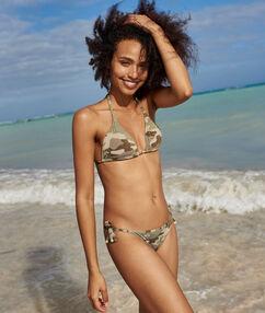 Bikini à nouer militaire.