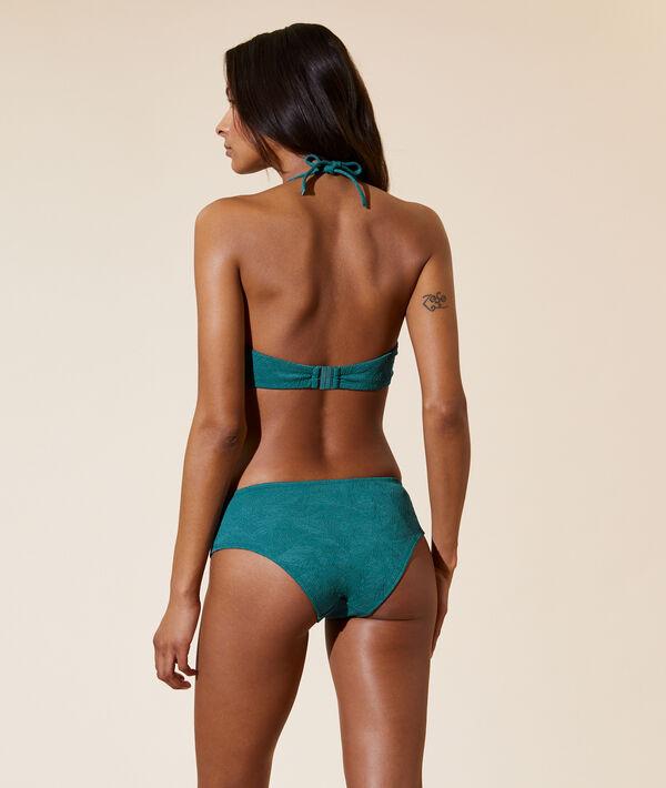 Sujetador bikini con foam, bordado palmeras. Copa B-E;${refinementColor}