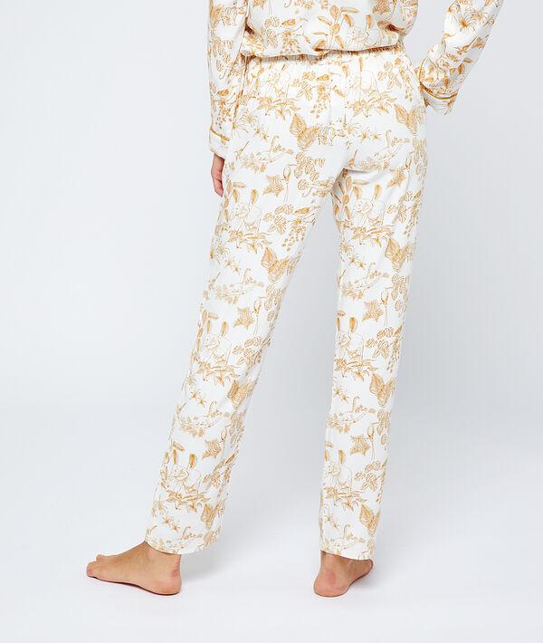 Pantalón pijama estampado selva