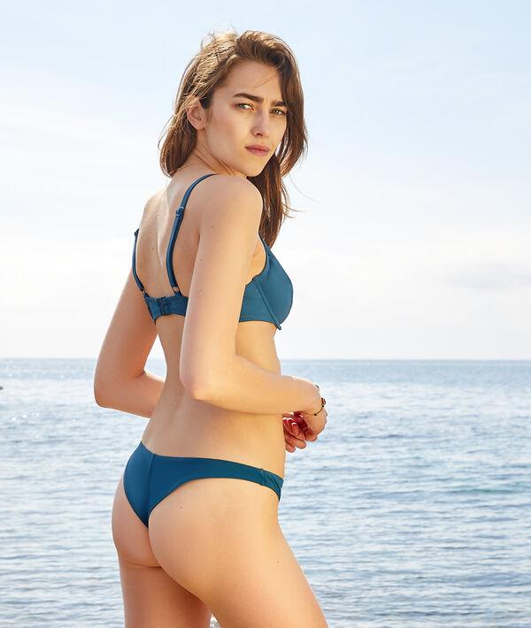 Sujetador bikini sin relleno de encaje. Copa B-E;${refinementColor}