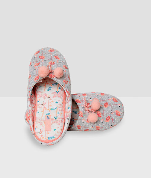 Zapatillas estampado flamencos