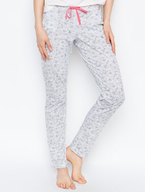 Pantalón estampado animal c.gris.