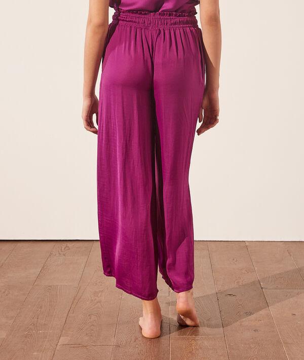 Pantalón pijama ancho;${refinementColor}