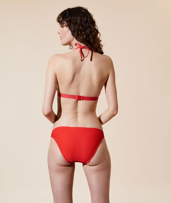 Sujetador bikini triángulo, copa fina;${refinementColor}