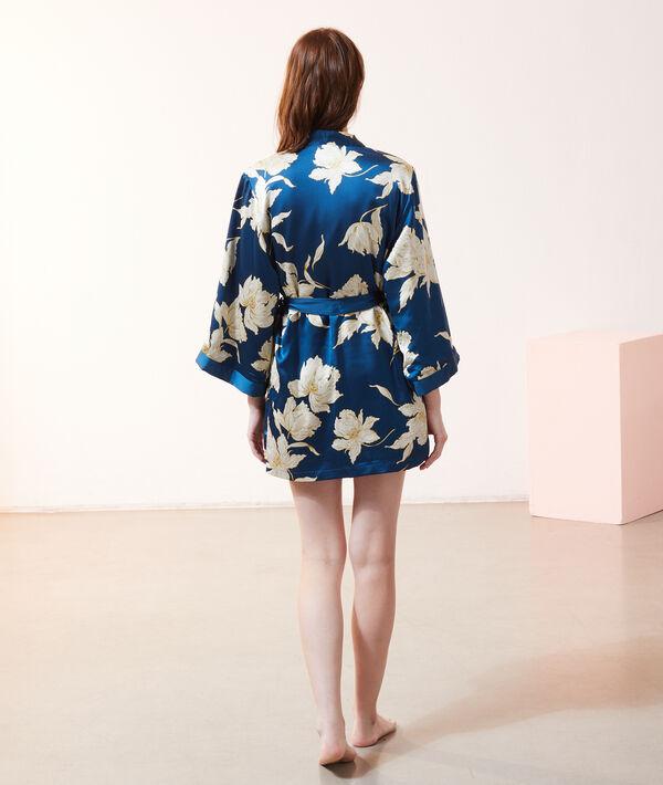 Kimono de satén con forro interior;${refinementColor}