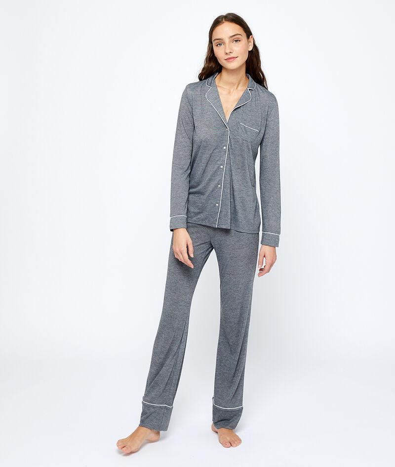 Camisa pijama lisa;${refinementColor}