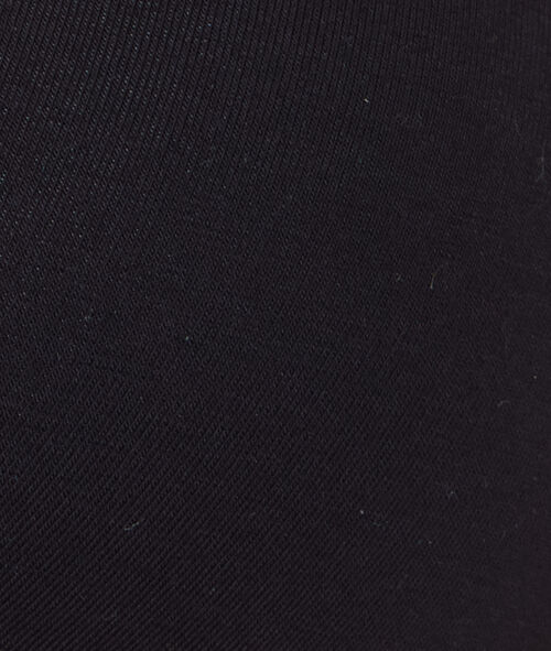 Sujetador triangular sin aros de algodón. Copa A-B
