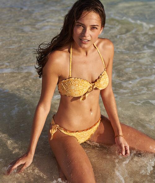 Sujetador bikini tirantes extraíbles