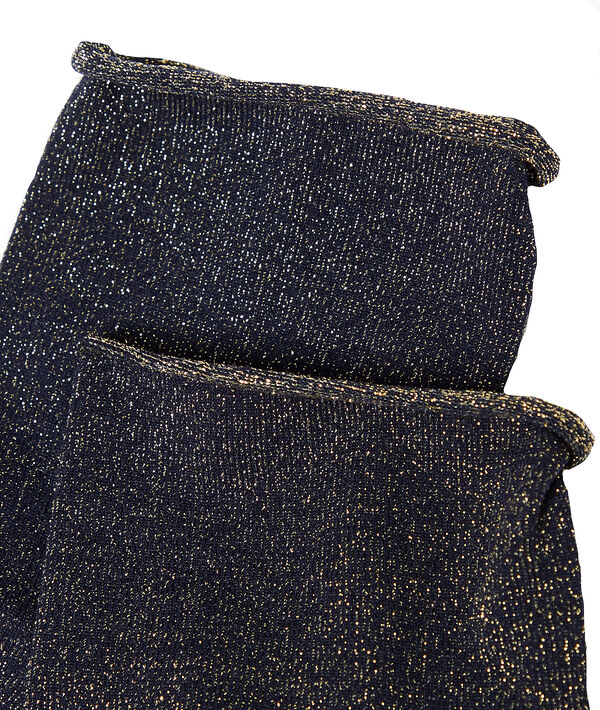 Calcetines fibras metalizadas